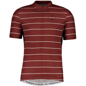 Maloja PushbikersM.Basic Shortsleeve Bike Jersey Men maroon